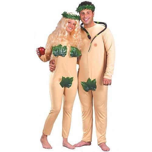 Adult Adam & Eve Couple Costume