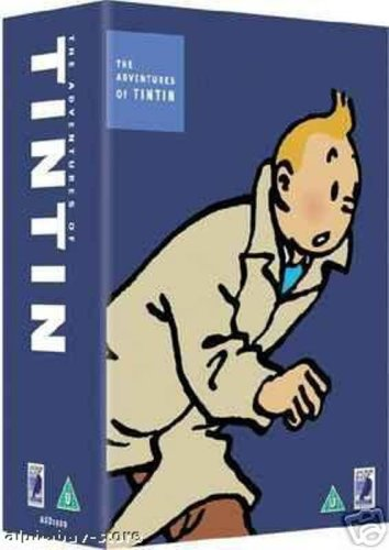 Aventures Tintin DVD Vols 6 - 10: Crabe Pinces Or - Tintin Tibet - Lotus Bleu - Affaire Tournesol - Cigares Pharaon - Secret Licorne - Tresor. Castafiore - Tintin Picaros (French Edition)