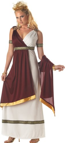 Roman Empress Costume - Large - Dress Size 10-12