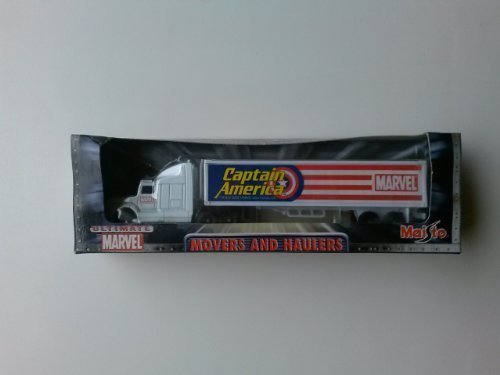Ultimate Marvel Captain America Movers and haulers by Maisto 1:34