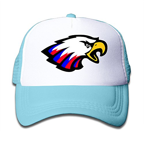 kids-america-eagle-adjustable-snapback-mesh-caps-skyblue-one-size