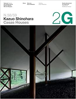2g 58 59 kazuo shinohara 2g intenational architecture for Architecture 2g
