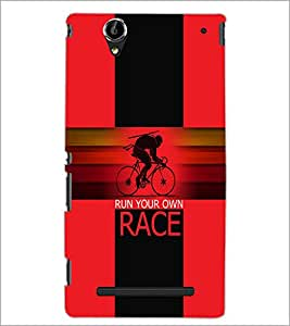 PrintDhaba Quote D-5947 Back Case Cover for SONY XPERIA T2 ULTRA (Multi-Coloured)