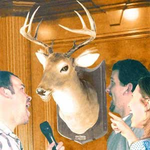 Buck the Talking Stag