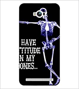 PrintDhaba Quote D-4902 Back Case Cover for ASUS ZENFONE MAX ZC550KL (Multi-Coloured)