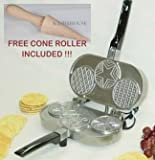 Palmer 3 Round Pizzelle Iron - made in USA