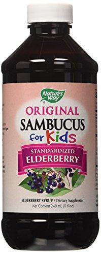 Nature's Way Sambucus for Kids Bio-certified Elderberry, 8-Ounce