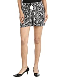 InDzone Printed Women's Basic Shorts-s