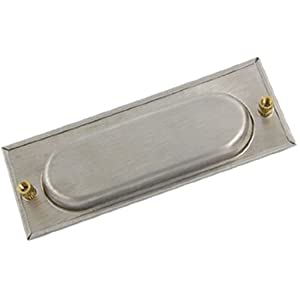 Sliding Door Cabinet Drawer Fitting Recessed Flush Pull
