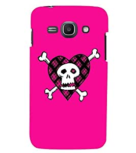 Printvisa Animated Pink Danger Sign Back Case Cover for Samsung Galaxy Ace 3::Samsung Galaxy Ace 3 S7272