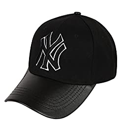 ILU NY caps black leather, Baseball, caps, Hip Hop Caps, men, women, girls, boys, Snapback, Trucker, Hats cotton caps Cap