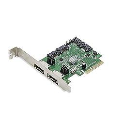 Syba SD-PEX40054 RAID Controller Card (Green)