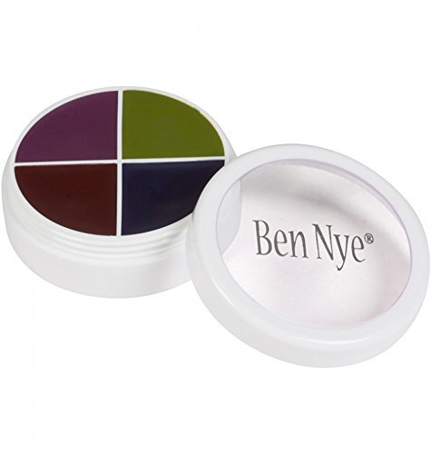 Ben Nye Color Wheel BRUISES (2 sizes available) (F/X Color Wheel CK-1 (5I1 .5oz)) by Ben Nye (Bruise Colors)