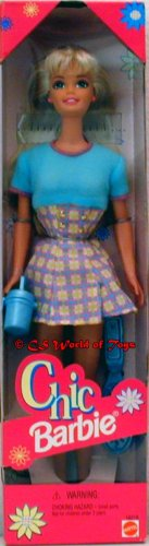 Fashion Avenue Blonde Chic Barbie in Blue Barbie Doll - 1