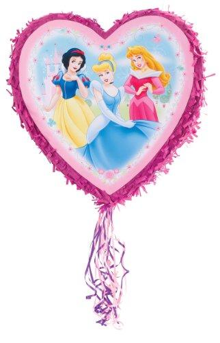 "Disney Princess 18"" Pull-String Pinata Party Accessory front-1081069"