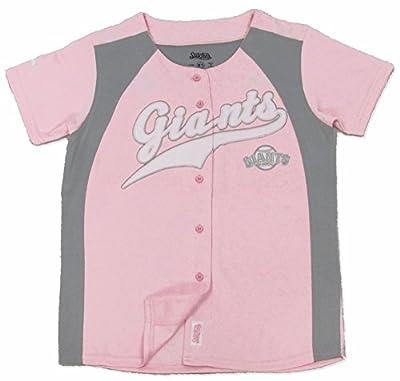 MLB San Francisco Giants Girl's Fashion Jersey