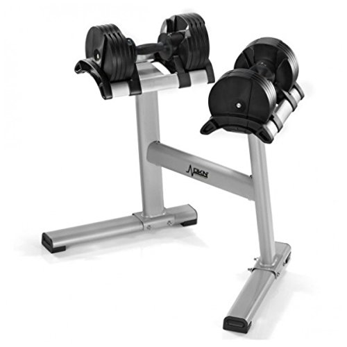 DKN Coppia di Manubri a peso variabile Dumbbell Twistlock + Stand cod. 20243