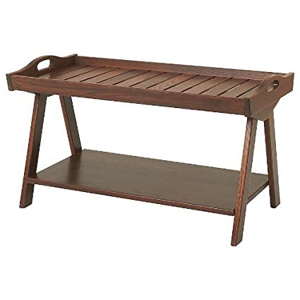 Manchester Wood Urban Camp Tray Top Coffee Table - Chestnut