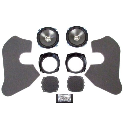 J&M Rokker Series Xt 7 1/4In. Fairing Speaker Upgrade Kit Hcrk-7252-Rxx