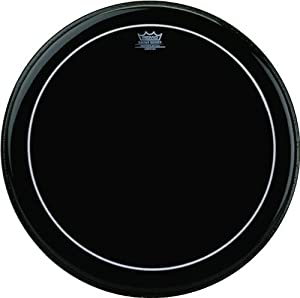 remo pinstripe ebony 26 bass drum head musical instruments. Black Bedroom Furniture Sets. Home Design Ideas