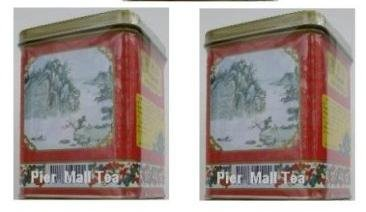 China Black Tea Sampler (Lychee Black Tea, Rose Black Tea) Loose Tea - 16 Oz