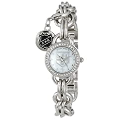 Game Time Ladies NHL-CHM-LA Charm NFL Series Los Angeles Kings 3-Hand Analog Watch by Game Time