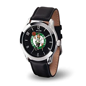 NBA Boston Celtics Classic Watch, Black by Rico Tag