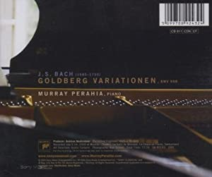 Bach: Goldberg Variations, BWV 988 from Sony Classical