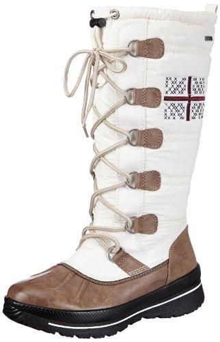 Caprice Womens Margit-B-1 9-9-26205-21 208 Boots White Weià (WHITE COMB) Size: 5 (38 EU)