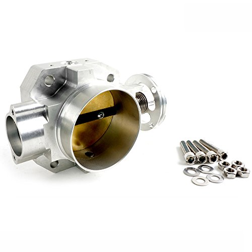 Generic 70mm Aluminum Throttle Body Intake Manifold For Honda B16/B18 DOHC Engine, Silver (Intake Manifold For B18 compare prices)