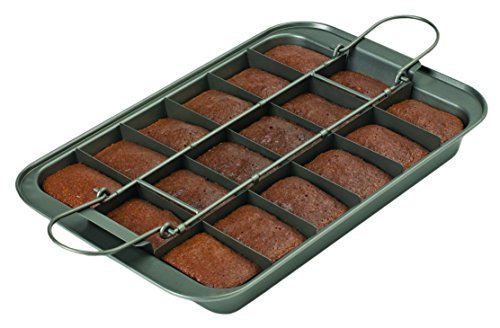 Chicago Metallic 26740 Slice Solutions Brownie Pan, 9 x 13