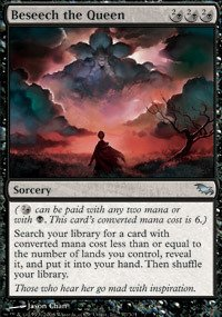 Magic: the Gathering - Beseech the Queen - Supplicare la Regina - Shadowmoor - Foil
