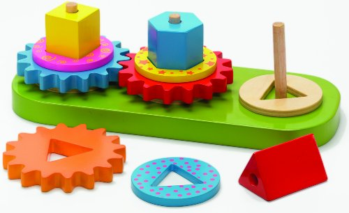 The Original Toy Company Geo Blocks and Gears - 1