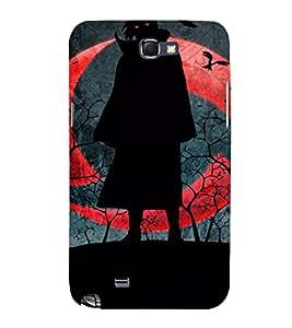 EPICCASE Vampire Mobile Back Case Cover For Samsung Galaxy Note 2 (Designer Case)