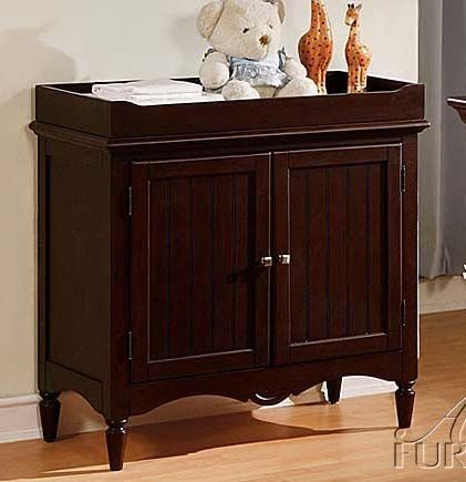 Baby Changing Table Espresso Finish front-1022718