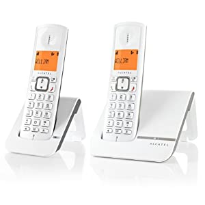 Alcatel Versatis F230 Duo Téléphone sans fil Gris