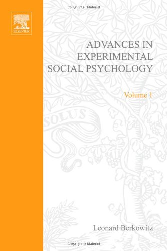 ADV EXPERIMENTAL SOCIAL PSYCHOLOGY,VOL 1, Volume 1 (v. 1)