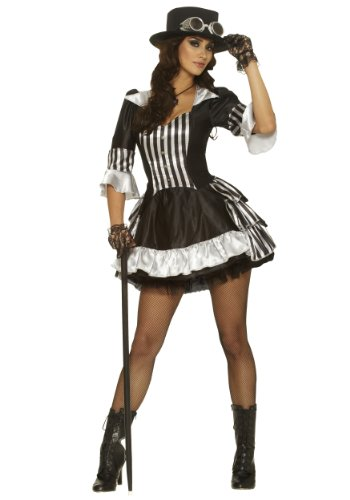 Adult Steam Dream Steampunk Costume - Large (Large)