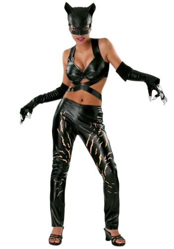 Rubies Womens Dc Comics Catwoman Fancy Dress Halloween Themed Party Sexy Costume