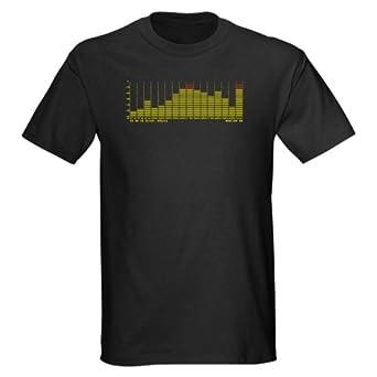 CafePress EQUALIZER Dark T-Shirt - S Black