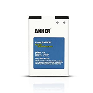 Anker® 1700mAh Li-ion Battery For Sprint HTC EVO 4G, EVO Shift 4G, Droid Incredible; HTC Touch Pro2, Touch Pro 2, Snap; Fits A9292 - White