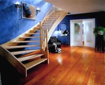 "American Cherry Ideal Loc 5"" Plank Prefinished Engineered Floating Hardwood Wood Floor Flooring"