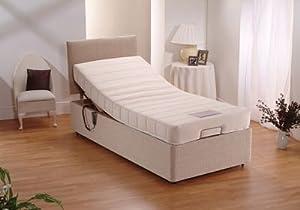 Electric Bed 3ft Single Adjustable Memoryfoam
