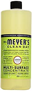 Mrs. Meyer's Clean Day All Purpose Cleaner, Lemon Verbena, 32 Ounce Bottle