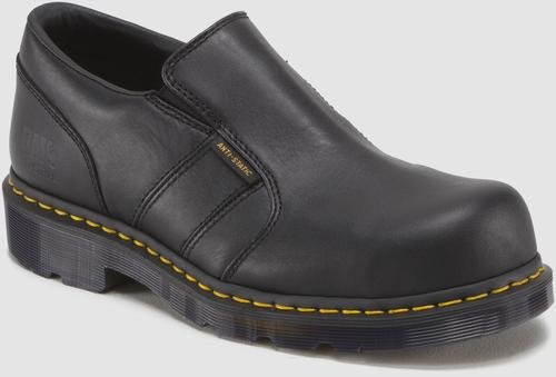 Dr. Martens Men's Resistor ST ESD Steel Toe Shoe,Black,7 UK/8 M US (Steel Toe Loafers compare prices)