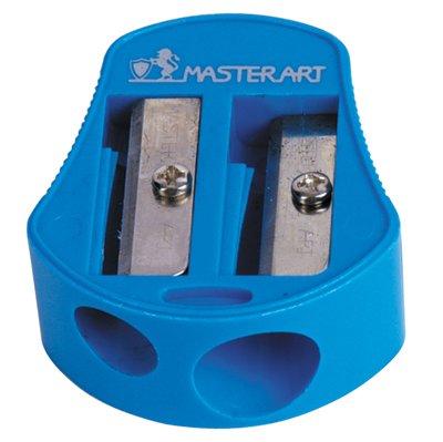 Pencil Sharpener Manual Hand Crank 2 Hole Pencil No.6 Masterart