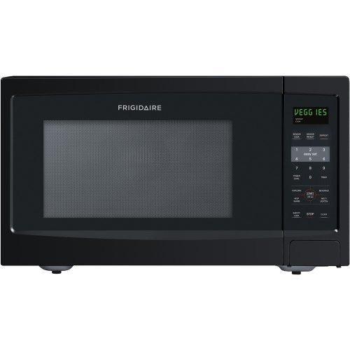 Frigidaire Ffce1638Lb 1100-Watt Countertop Microwave, 1.6 Cubic Feet, Black