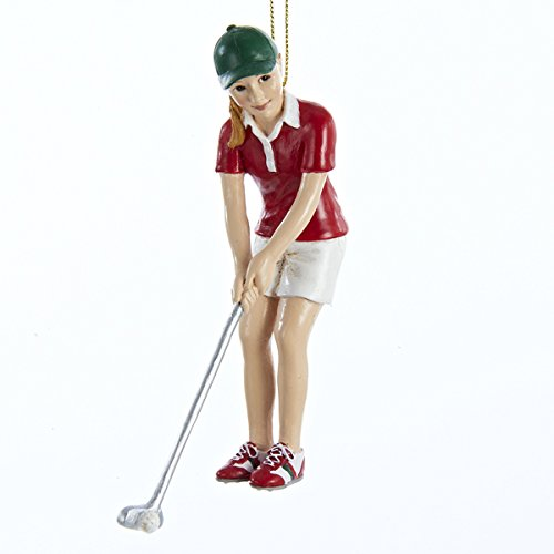 Girl Golfer Sports Athlete Golf Christmas Tree Ornament Holiday Decoration New