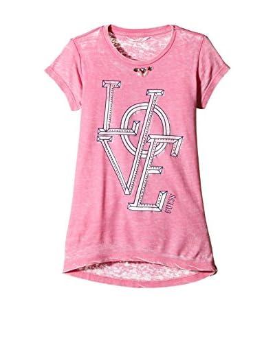 Guess T-Shirt Manica Corta Ss [Fucsia]