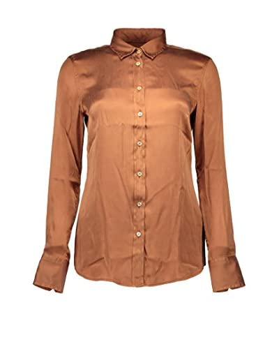 Fred Perry Camisa Mujer Bronce